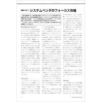 【特集1】システムベンダのフォーカス市場